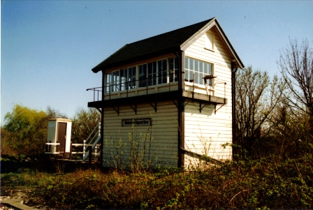 Walkden High Level signal box in 1988.