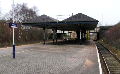 View of Swinton station, February 2009.